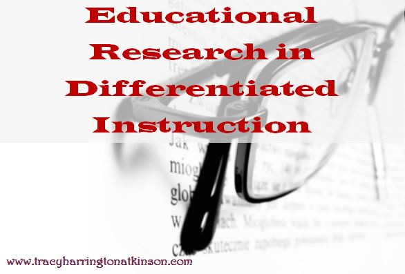 Educational Research In Differentiated Instruction Paving The Way